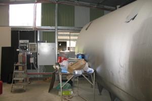 Milk vat