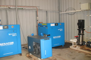 2 x 11kw 3 PH compressors