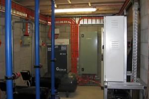 Dairy plant room POLYPHAZ R37/480C