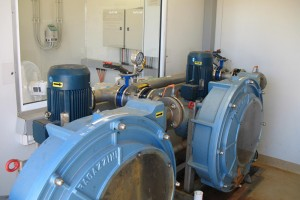 two 11KW pumps